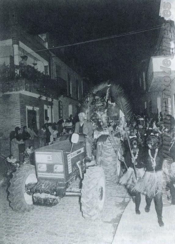 Pasacalles carnaval de gines 1988