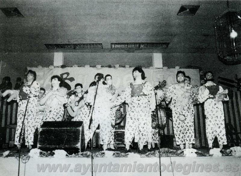 Chirigotas carnaval de gines 1990