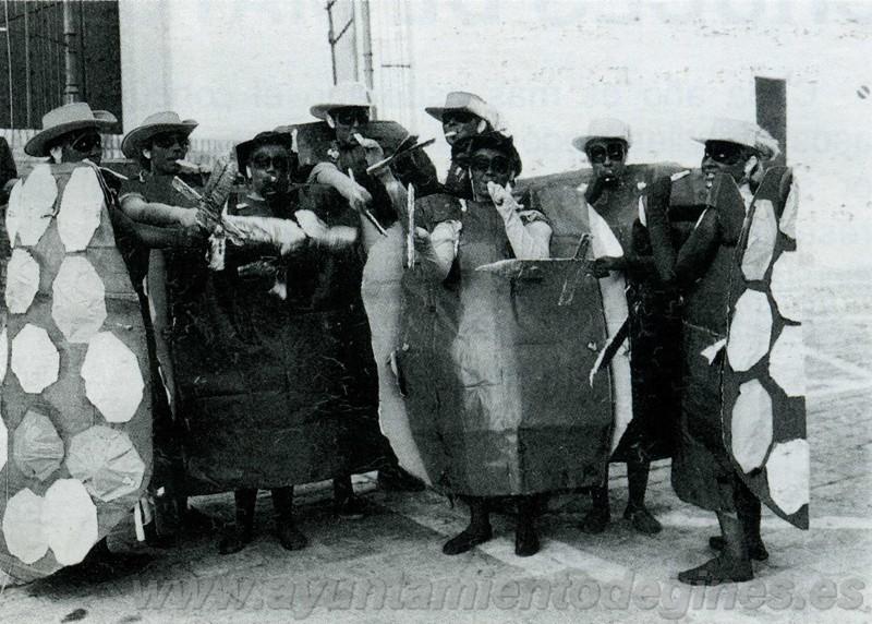 Disfraces carnaval de gines 1990