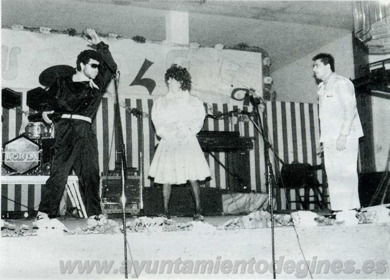 Cuarteto carnaval de gines 1990