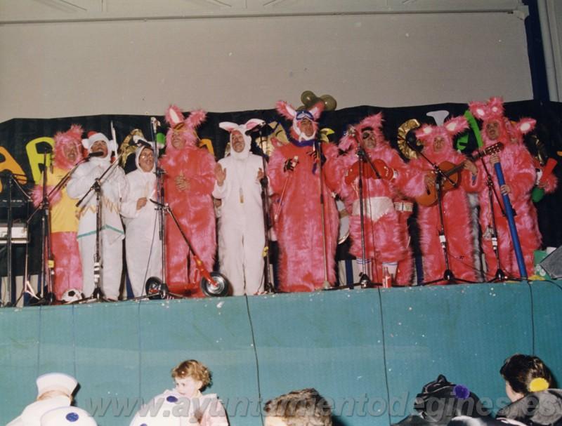 Premios chirigotas carnaval de gines 1993