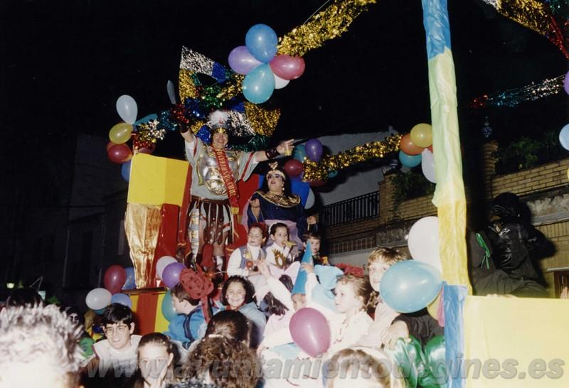 Pasacalles carnaval de gines 1993