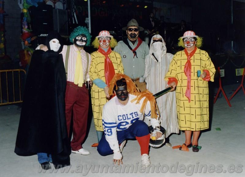 Disfraces carnaval de gines 1993