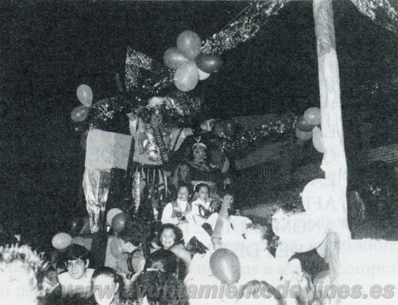 Pasacallles carnaval de gines 1994