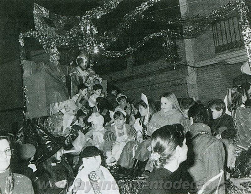 Carrozas ninfos carnaval de gines 1995