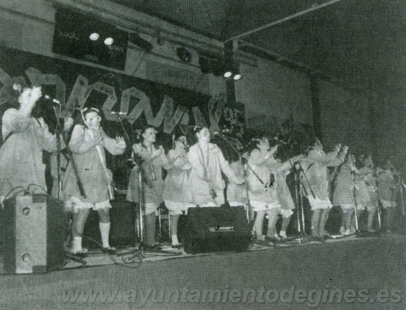 Premios chirigotas carnaval de gines 1995