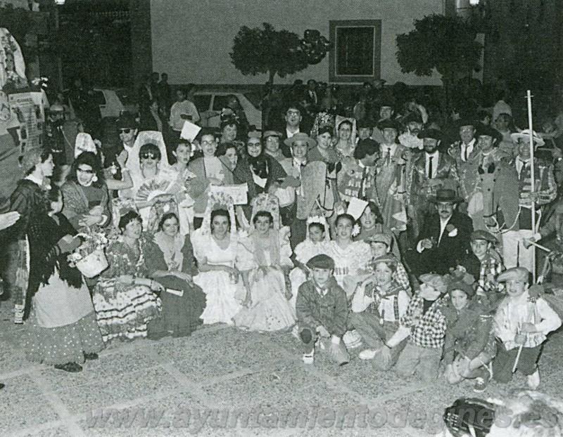 Premios carruajes carnaval de gines 1995