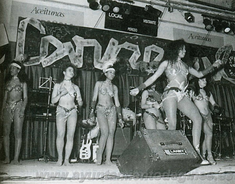 Actuaciones carnaval de gines 1995