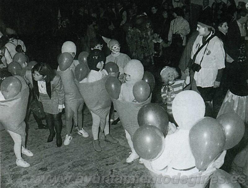 Pasacalles carnaval de gines 1995