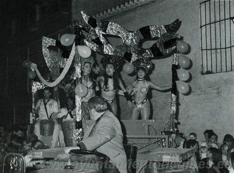 Pasacalles carnaval de gines 1996