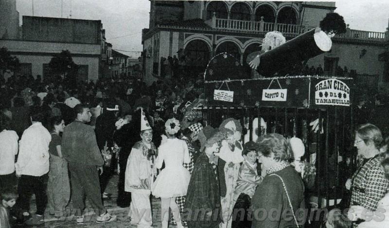 Pasacalles carnaval de gines 1997