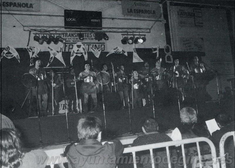 Actuaciones carnaval de gines 1998