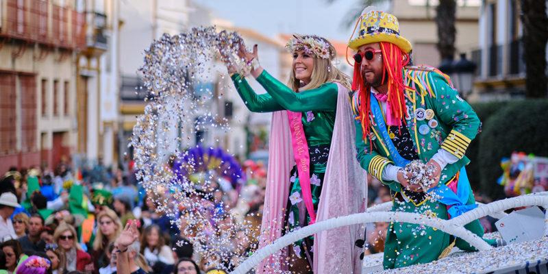 Ninfos en pasacalles carnaval de gines 2019