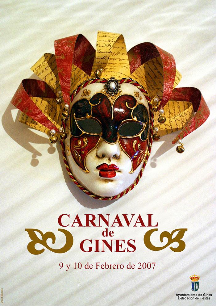 Cartel carnaval de gines 2007