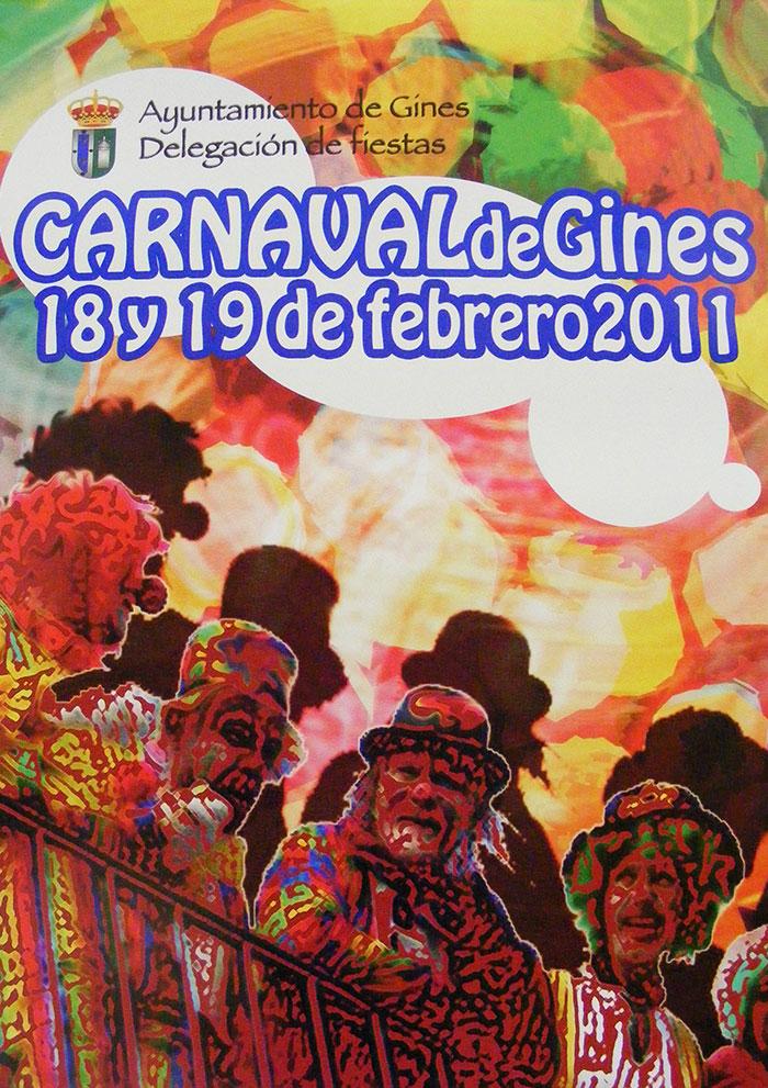Cartel carnaval de gines 2011