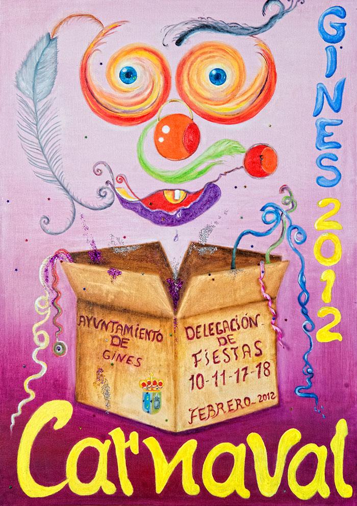 Cartel carnaval de gines 2012