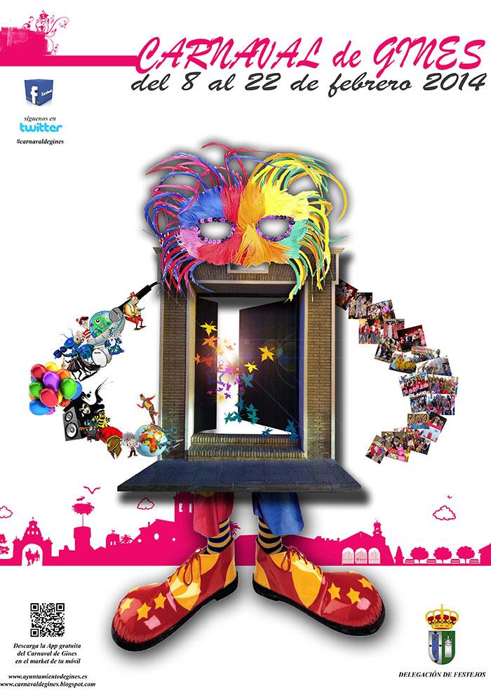 Cartel carnaval de gines 2014