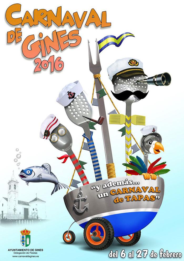 Cartel carnaval de gines 2016