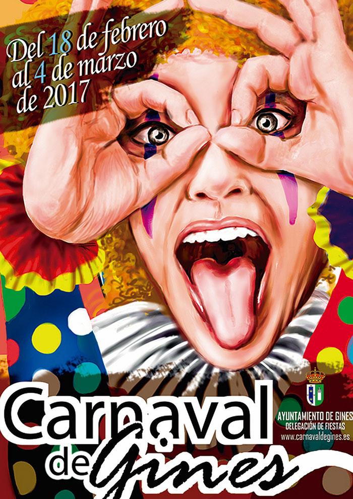 Cartel carnaval de gines 2017