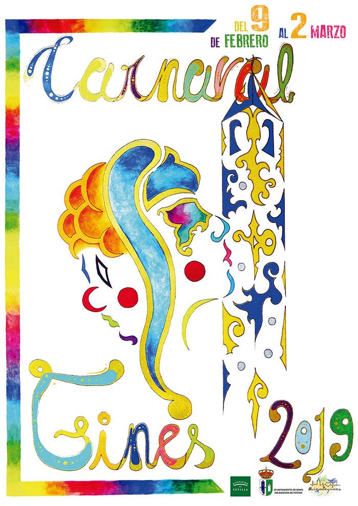 Cartel carnaval de gines 2019