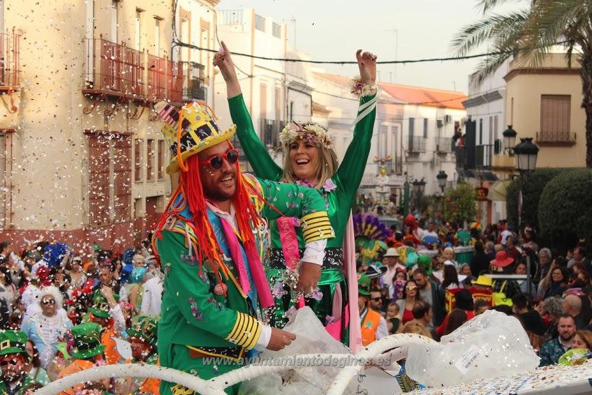 Pasacalle Ninfos carnaval de gines 2019