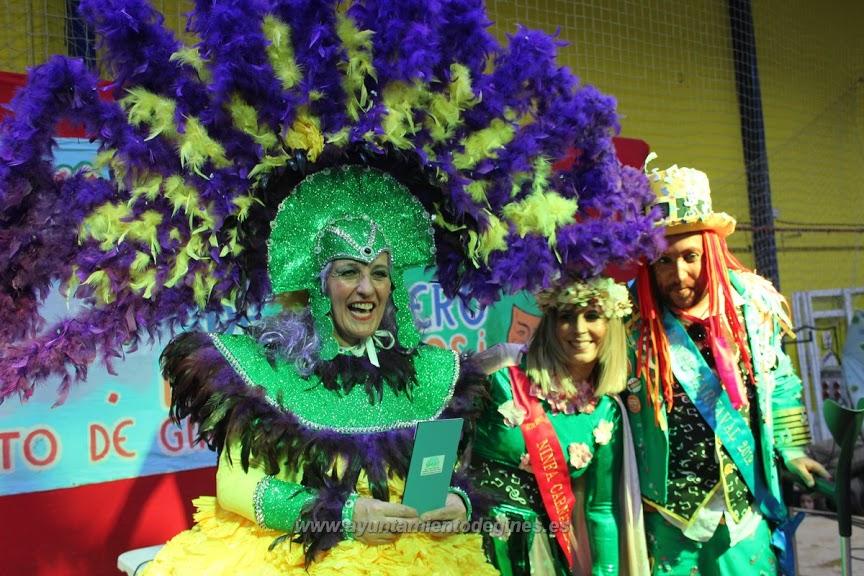 Entrega premios carnaval de gines2019