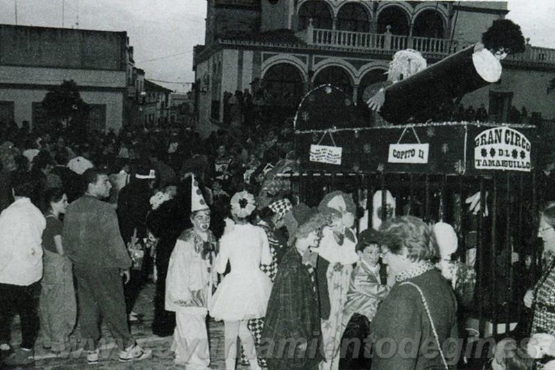 pasacalle carnaval de gines 1997