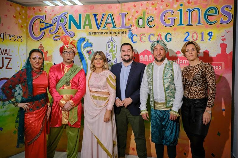 Gala inaugural carnaval de gines 2019