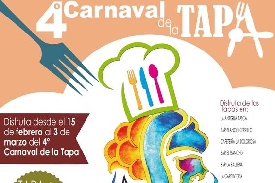 cartel de la tapa carnaval de gines 2019