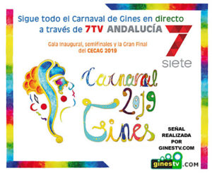 Cartel Gines TV Carnaval de Gines