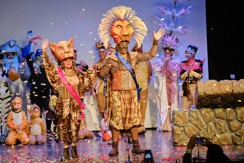 El Carnaval de Gines 2020 arranca con una espectacular proclamación de los Ninfos y un Pregón Inaugural lleno de fantasía