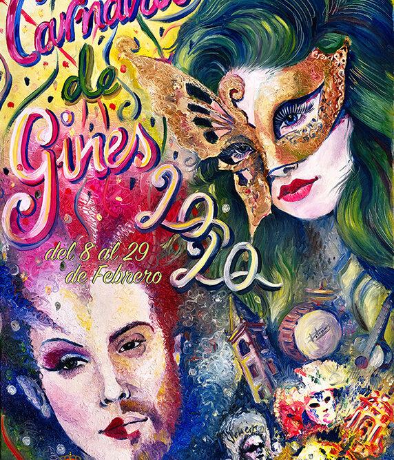 Gines da a conocer el cartel anunciador de su Carnaval 2020